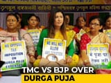 "Video : ""Durga Puja Tax"" Opens New Mamata Banerjee vs Centre Front"