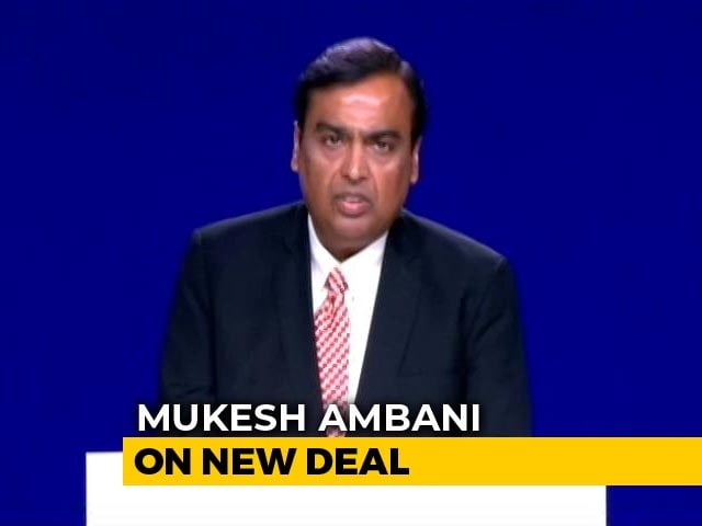 Video : Biggest Foreign Investment In Reliance History: Mukesh Ambani On New Deal