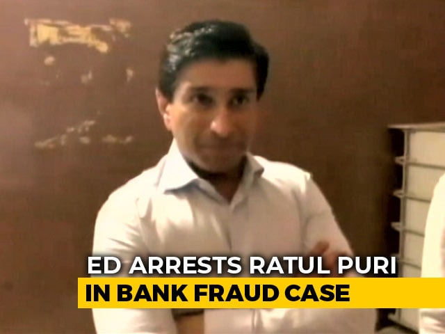 Video : Kamal Nath's Nephew Ratul Puri Arrested In Bank Fraud Case