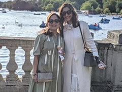 Inside Sonam Kapoor's Well-Spent Afternoon With Mother-In-Law In London