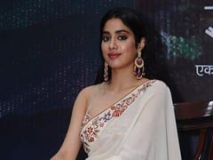 Janhvi Kapoor Trolled For Holding A Book Upside Down At An Event