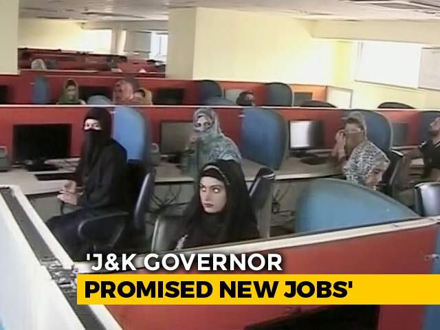 Video : At A J&K Call Centre, More Than 70 Lose Their Jobs. But There Is A Ray Of Hope