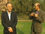 Video: Walk the Talk with Arun Jaitley (Aired: December 2011)
