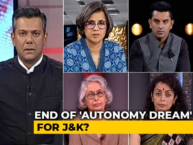 Video : Kashmir Special Status Ends Under Article 370: What's The Impact On Ground?