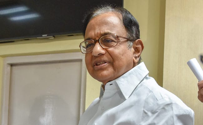 'Shame': BJP Hits Out At Congress Over P Chidambaram case