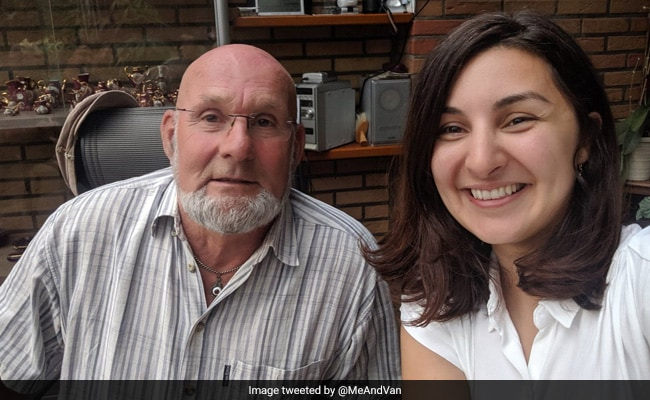 He Gifted A Bike To A Child Refugee. 24 Years Later, She Tracked Him Down
