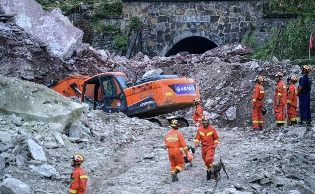 'Could Feel Rocks Chasing US': 17 Missing After Landslide In South China