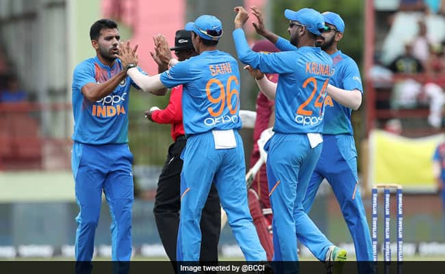 WI vs IND 3rd T20I: Deepak Chahar register best bowling figures for India against West Indies