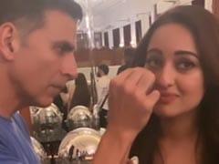 When Akshay Kumar Became 'Low Budget Makeup Artist' For Sonakshi Sinha
