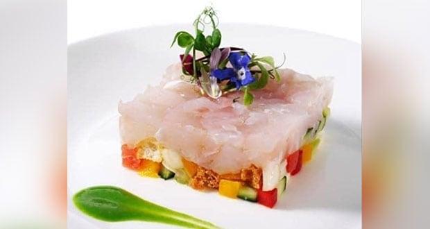 Black Cod & Vegetable Tartar With Parsley Pesto
