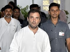 """Vendetta Politics"" Says Rahul Gandhi After DK Shivakumar's Arrest"