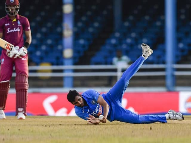 Watch: Bhuvneshwar Kumar Wows Fans With Sensational Return Catch In West Indies vs India 2nd ODI