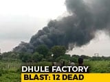 Video : 12 Killed In Cylinder Explosions At Chemical Factory In Maharashtra
