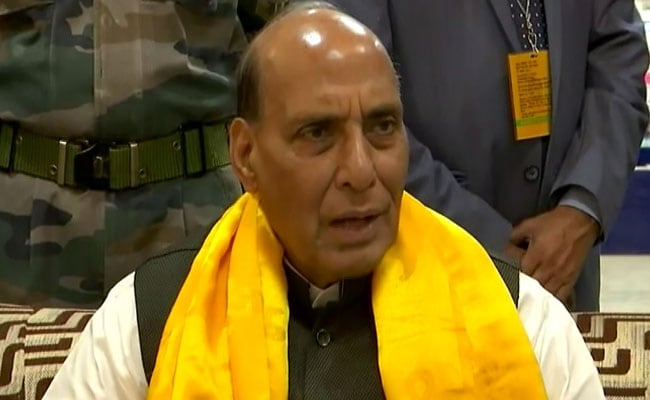 Armed Forces Must Be Trained To Tackle Chemical-Biological Threats: Rajnath Singh