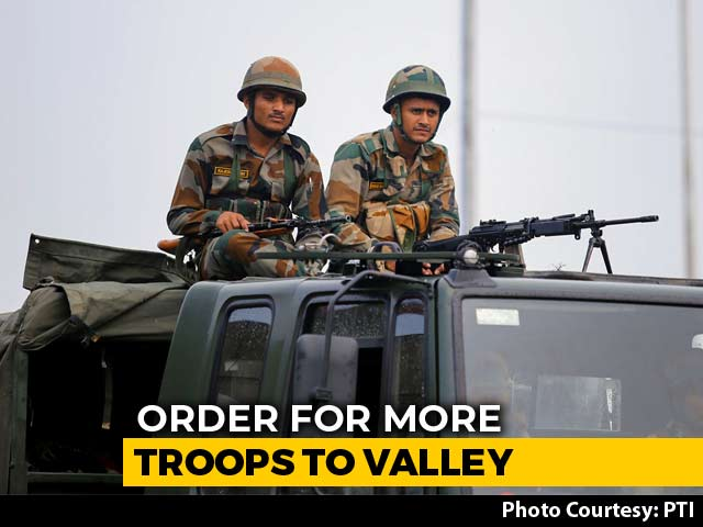 Video : 8,000 More Troops Being Sent To Kashmir After Article 370 Scrapped