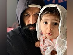 'Dad And Daughter Fine Now': <I>KGF</i> Star Yash Cried During 8-Month-Old Ayra's Ear-Piercing