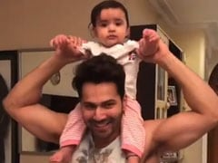 Varun Dhawan Is 'Very Busy' On Day Off With '<I>Chachu No 1</i>' Duties, Courtesy His Niece