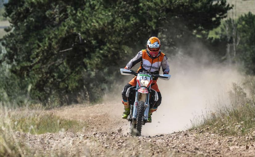 Privateer Ashish Raorane was the fastest Indian finishing 12th overall ahead of some legendary riders