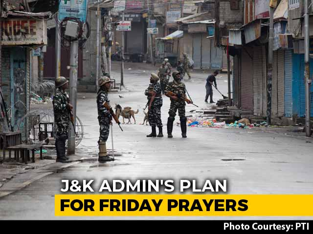 Video : Amid Lockdown, J&K Administration Prepares For Friday Prayers