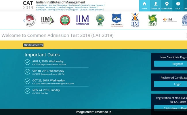 CAT admit card, CAT admit card 2019, IIM Kozhikode, CAT 2019 admit card, CAT 2019 admit card download, iimcat.ac.in, CAT admit card download