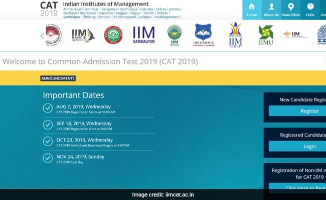 CAT Exam 2019: कैट परीक्षा के लिए रजिस्ट्रेशन शुरू, इन आसान स्टेप्स से करें अप्लाई
