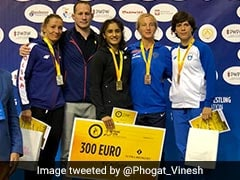 Vinesh Phogat Wins Third Successive Gold In 53kg In Poland Open