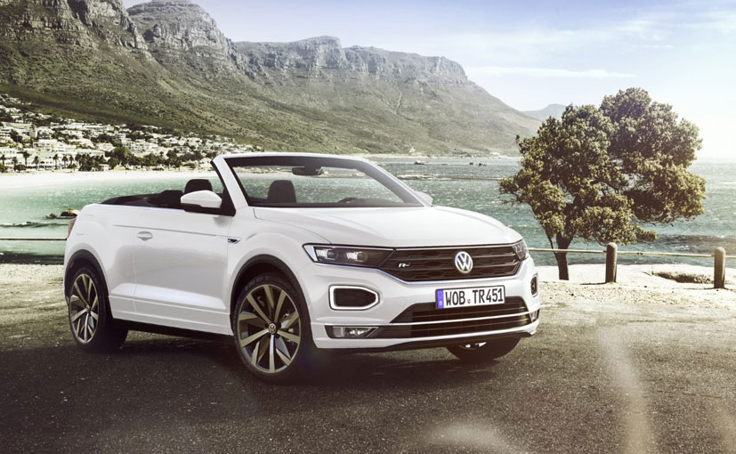 The open top Volkswagen T-Roc is based on the MQB platform