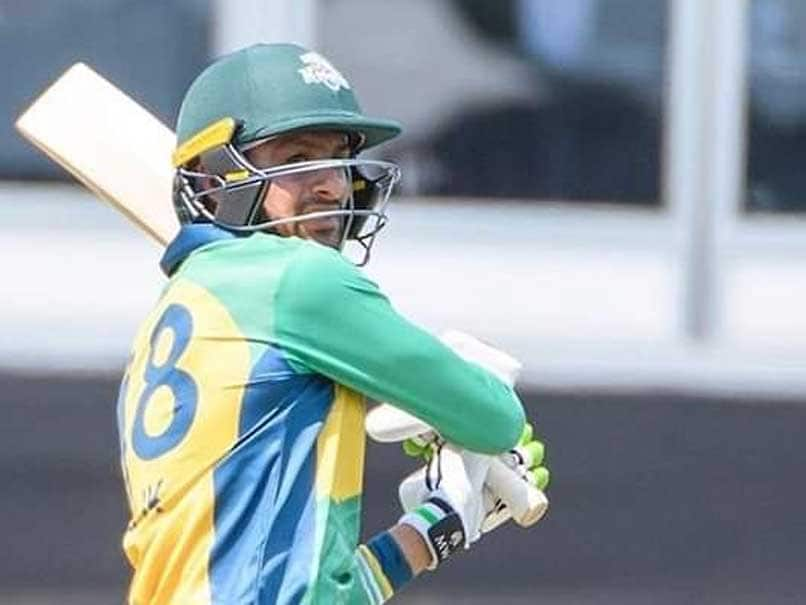 Global T20 Canada: Pakistani All rounder Shoaib Malik shatters glass window with huge sixes