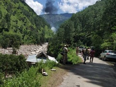 Helicopter For Flood Relief Hits Power Cable, Crashes In Uttarakhand