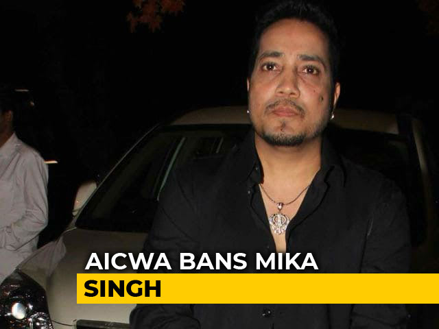 Video : Film Body Bans Mika Singh After Performance In Karachi