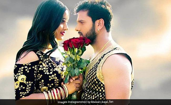 Bhojpuri Cinema: काजल राघवानी और खेसारी लाल यादव के इस रोमांटिक अंदाज ने मचाया तहलका, वीडियो हुआ वायरल