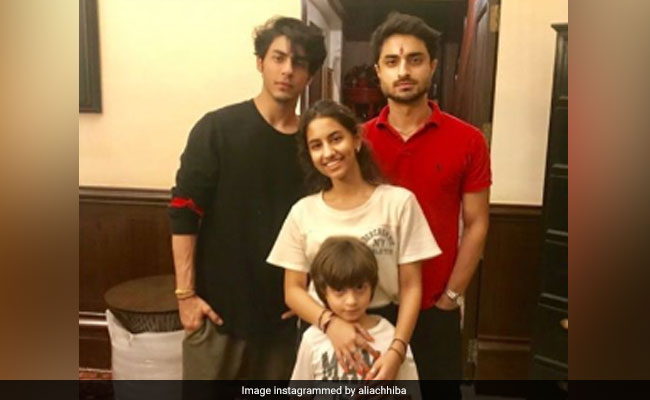 Raksha Bandhan 2019: Inside Aryan Khan And AbRam's Celebrations With Cousin Alia Chhiba