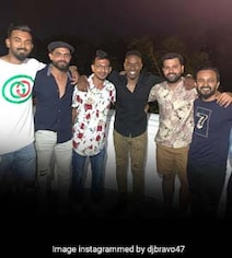 Bravo Parties With 'Brothers From India' At Lara's Residence. See Pics
