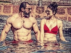 Pooja Batra And Nawab Shah Are Painting Instagram Red With This Pool Pic