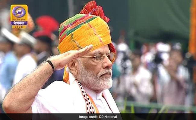 'Happy Independence Day To All My Fellow Indians. Jai Hind', Says PM Modi