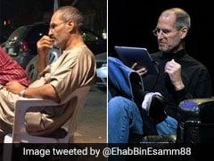 पठानी सूट पहने कुर्सी पर बैठे दिखे 'स्टीव जॉब्स' !, Photo देख लोग हुए हैरान, बोले - क्या जिंदा हैं एप्पल फाउंडर!