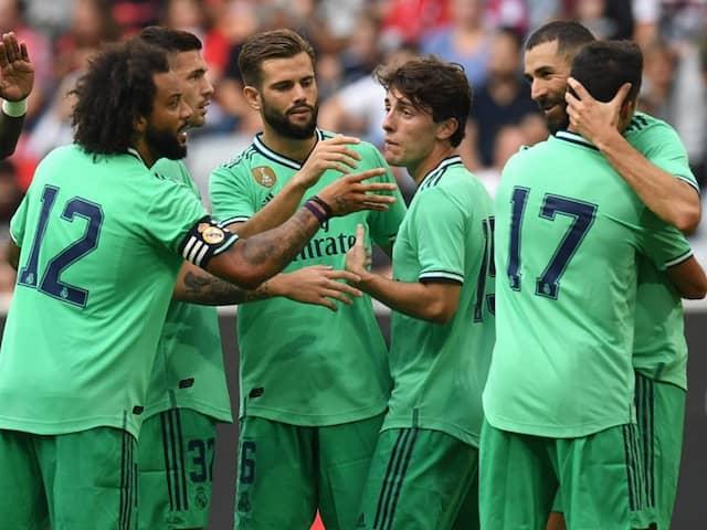 Real Madrid Coach Zinedine Zidane Confident As Karim Benzema Hat-Trick Helps Lift Gloom