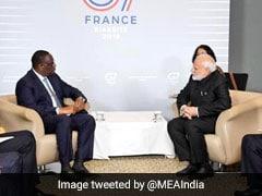 PM Modi Holds Bilateral Talks With Senegal President In France