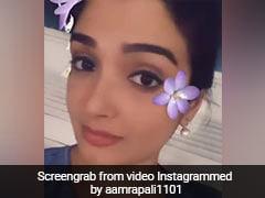 Bhojpuri Cinema: आम्रपाली दुबे ने  'कजरारे...' गाने पर दिए ऐसे एक्सप्रेशन, Video देख आप भी कहेंगे लाजवाब
