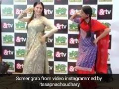 Sapna Choudhary Viral Video: सपना चौधरी को डांस में कड़ी टक्कर दे रही है ये लड़की, देखें Video