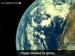 चंद्रयान-2 से ली गई पहली तस्वीरों को ISRO ने किया जारी, Tweet कर लिखी यह बात