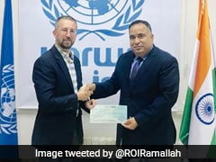 India Contributes $5 Million To UN Agency Working For Palestinian Refugees