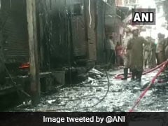 Fire At Cloth Godown In Delhi, 21 Fire Engines Rushed To The Spot