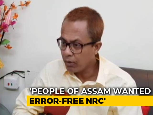 "Video : ""Conspiracy To Keep Hindus Out"": Assam BJP Leaders Unhappy With NRC List"
