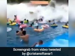 Waterpark Wave Machine In China Triggers 'Tsunami', 44 Injured