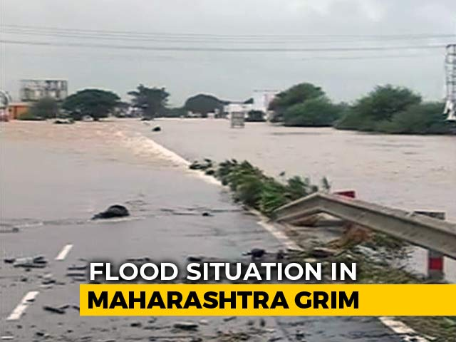 Video : Vanishing Flyover, Rooftops In Water At Maharashtra's Flooded Kolhapur