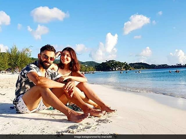 Virat Kohlis Beach Time With Anushka Sharma In West Indies. See Pic