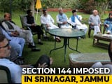 Video : Ex-Chief Ministers Under House Arrest Amid J&K Lockdown