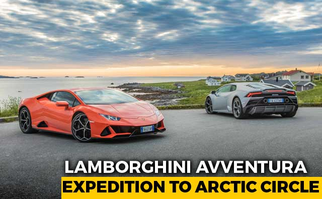 Lamborghini Avventura: Expedition To Arctic Circle
