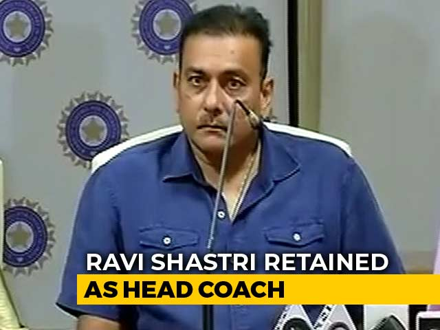 Ravi Shastri Retained As Team India Head Coach